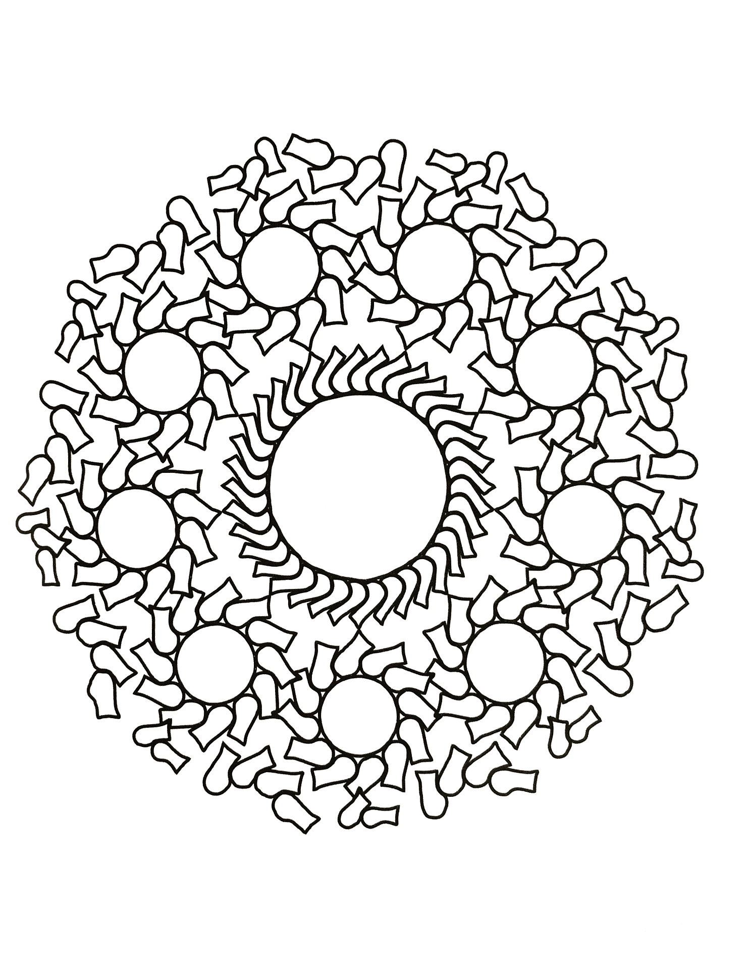 Mandalas to download for free 7
