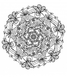 Mandalas - Coloring pages for adults | JustColor - Page 12