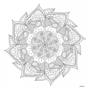 Abstract Mandala