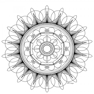coloring adult mandala mpc design 5