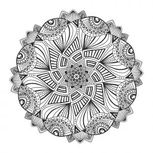 Ornamental floral mandala. Decorative ornament pattern. Vector for adult coloring page or decoration. Creative interior print.,Ornamental floral mandala. Decorative ornament pattern. Vector for adult coloring page or decoration. Creative interior print.