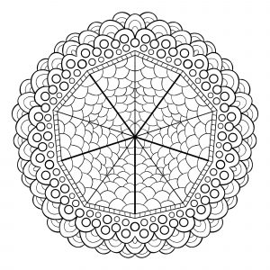 Unique mandala design