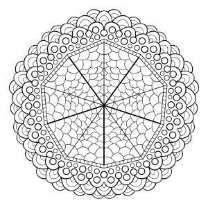 Unique mandala design