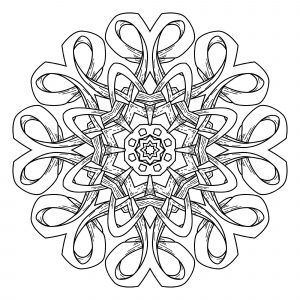 Abstract decorative Mandala