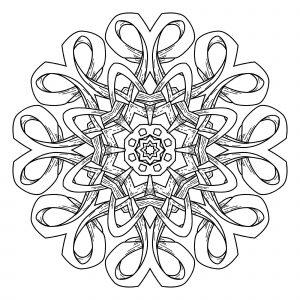Abstract decorative Mandala