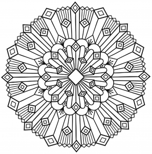 coloring-mandala-art-deco-simple