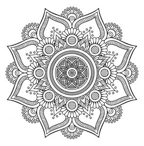 Mandalas Coloring Pages For Adults