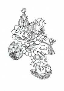 Coloring mandala for chloe