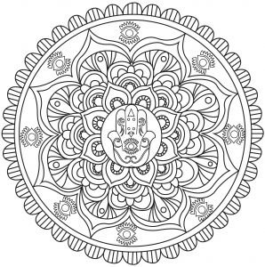 Adult Coloring Pages · Download and Print for Free ! - Just Color