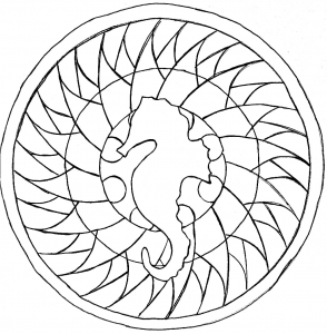 coloring-page-adult-sea-horse-mandala