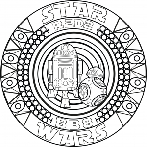 coloring-page-adulte-mandala-bb8-r2d2-by-allan free to print