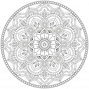 coloring-page-ze-mandala-by-pauline free to print