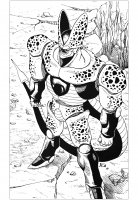 coloring-page-inspired-by-dragon-ball-Z-cell-character