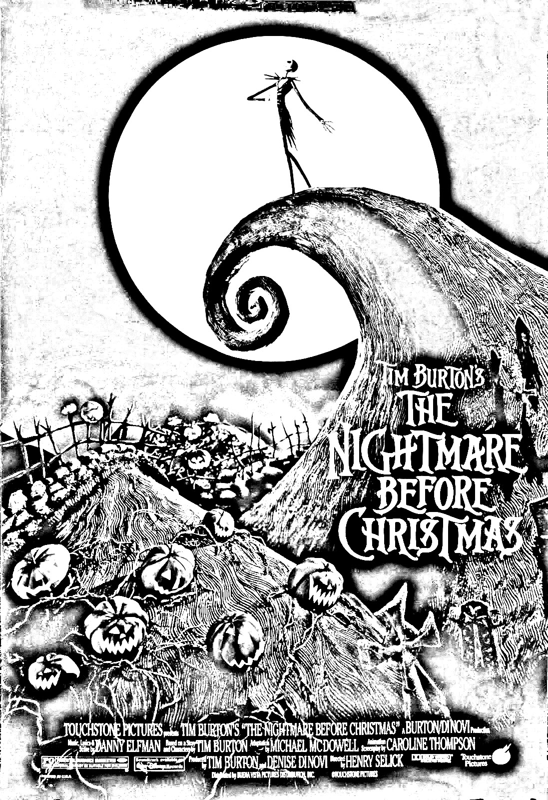 tim burton presents the nightmare before christmas