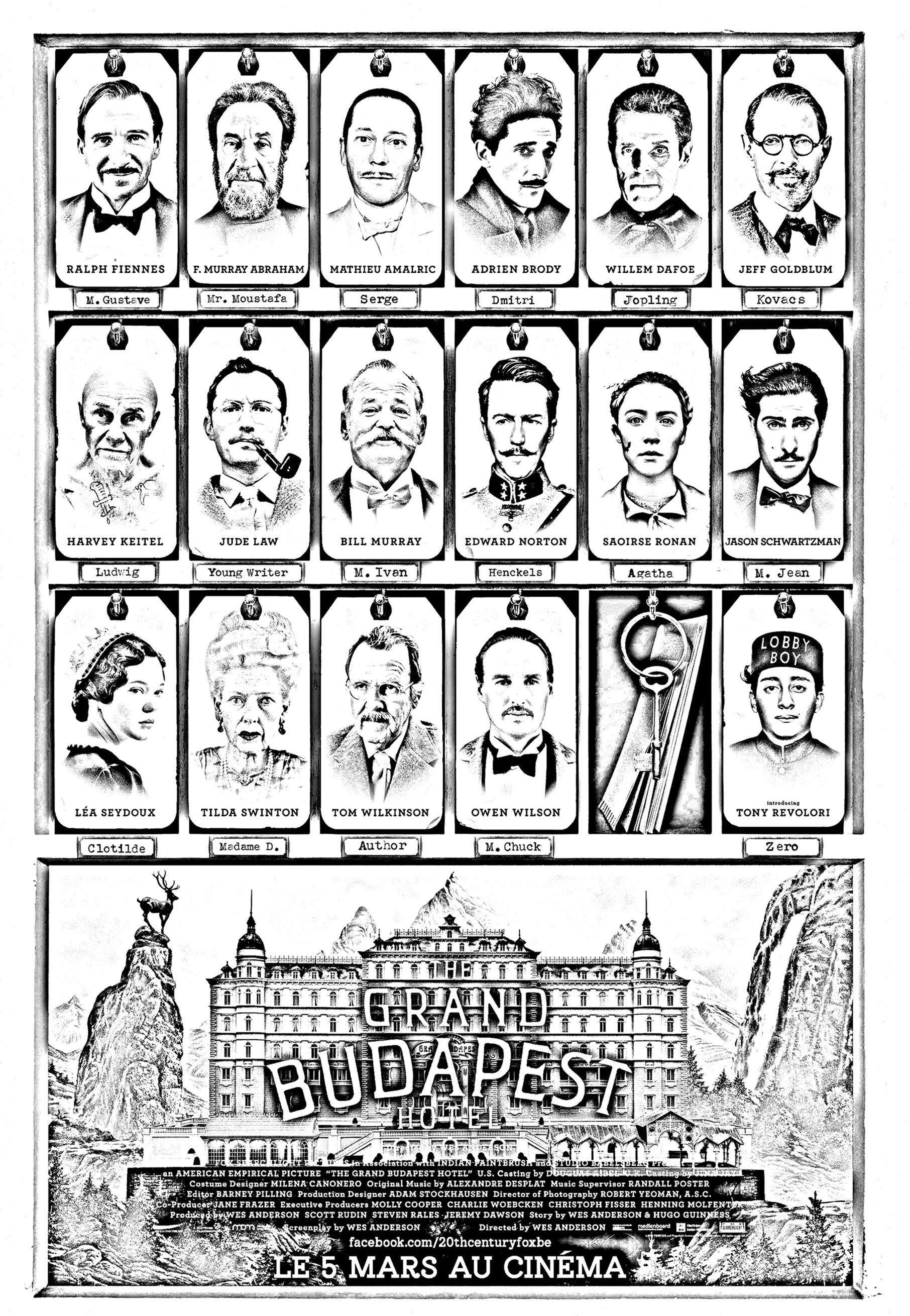 Movie the grand budapest hotel | Movies - Coloring pages ... Kids Movie Posters
