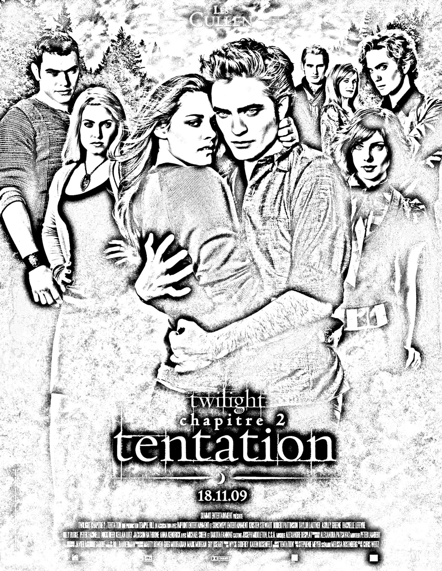 your creations you have colored this coloring page - Twilight Coloring Pages