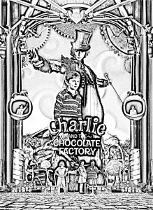 Coloring movie charlie et la chocolaterie