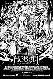 The Hobbit, the Desolation of Smaug poster
