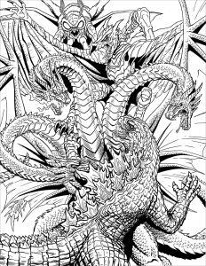 Monster vs Dragon