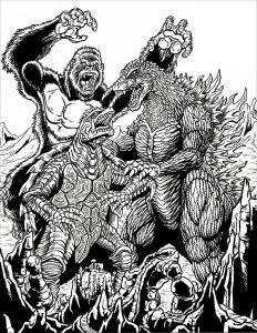 Kong vs Gamera vs Godzilla