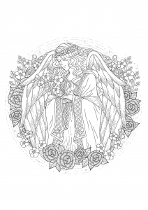 coloring-page-adults-angel