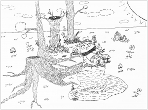 coloring-page-league-of-legends-teemo free to print