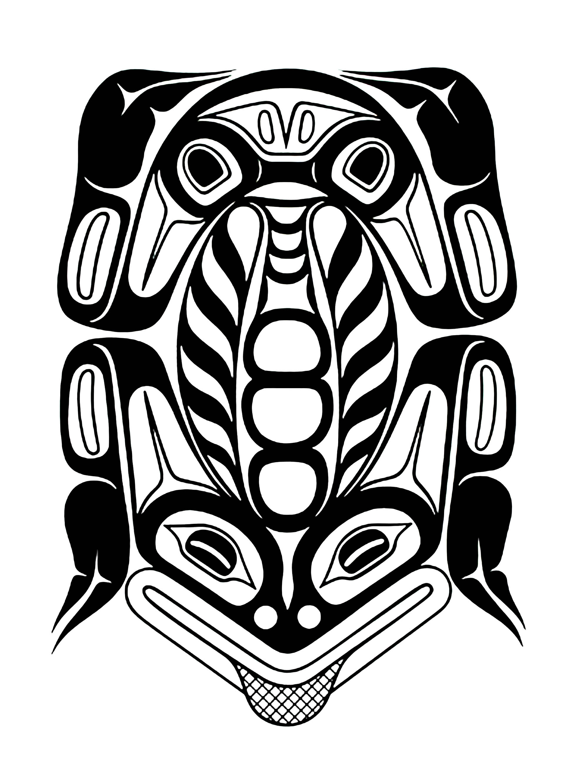 art northwest coastal people northern frog native american art