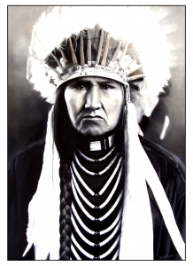 coloring-adult-native-american-indian-chief-2 free to print