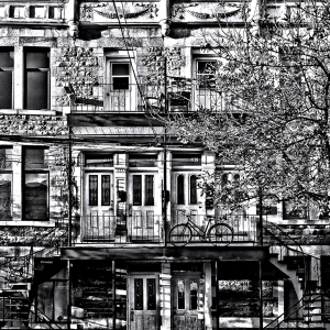 coloring-facade-new-york free to print