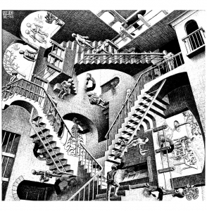 coloring-mc-escher-relativity free to print