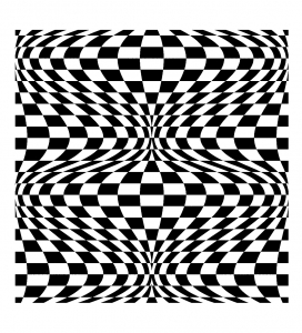 Coloring op art illusion optique 2