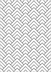 Optical Illusions (Op Art) - Coloring Pages for Adults