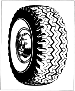 coloring-roy-lichtenstein-tire-1962