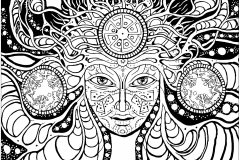 coloring-page-psychedelic-woman