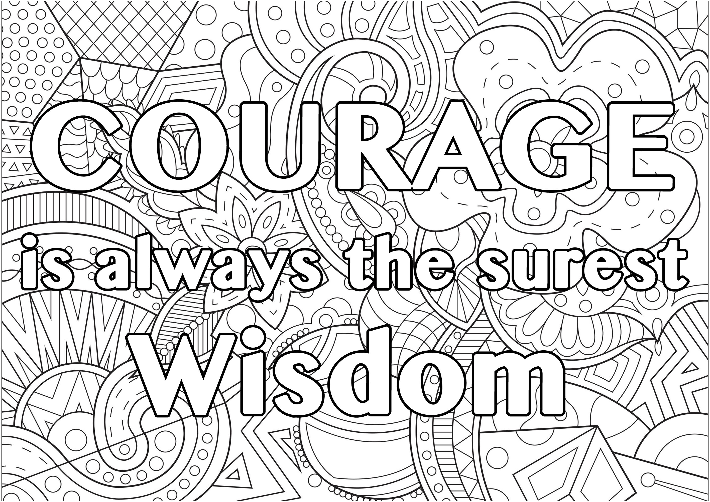 Courage is always the surest wisdom (Quote by Wilfred Grenfell - QuotesBook)