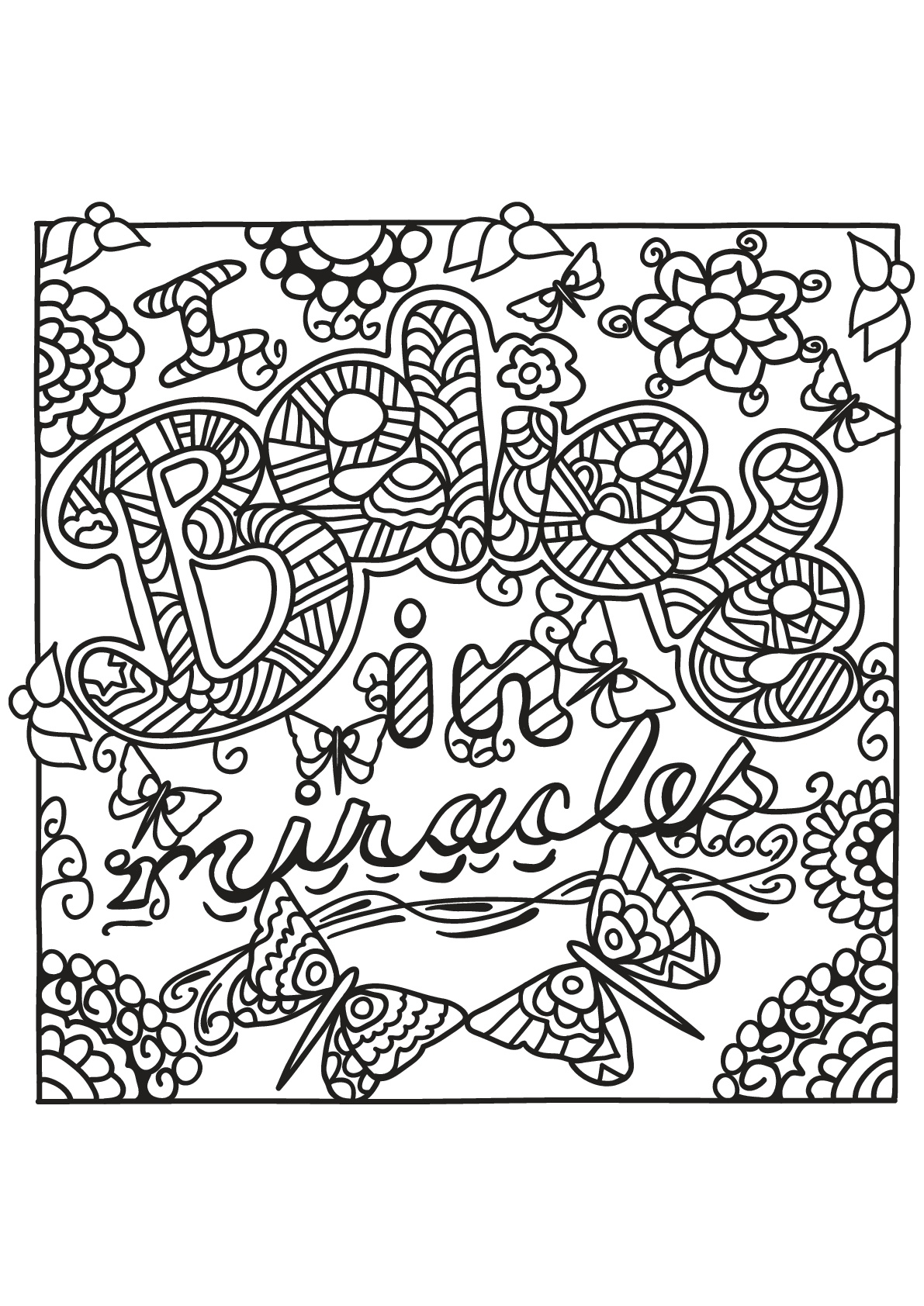 Free book quote 13 Quotes Adult Coloring Pages