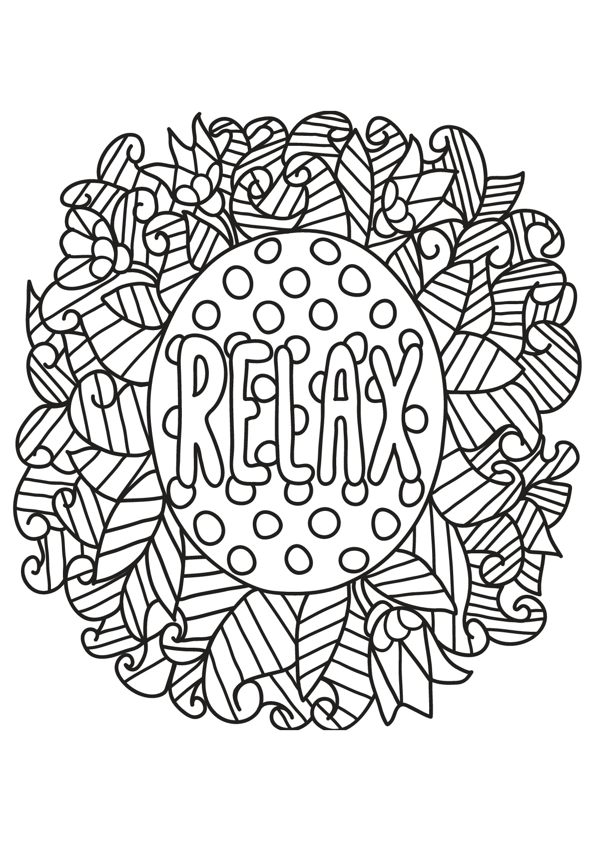 - Free Book Quote 19 - Positive & Inspiring Quotes Adult Coloring Pages