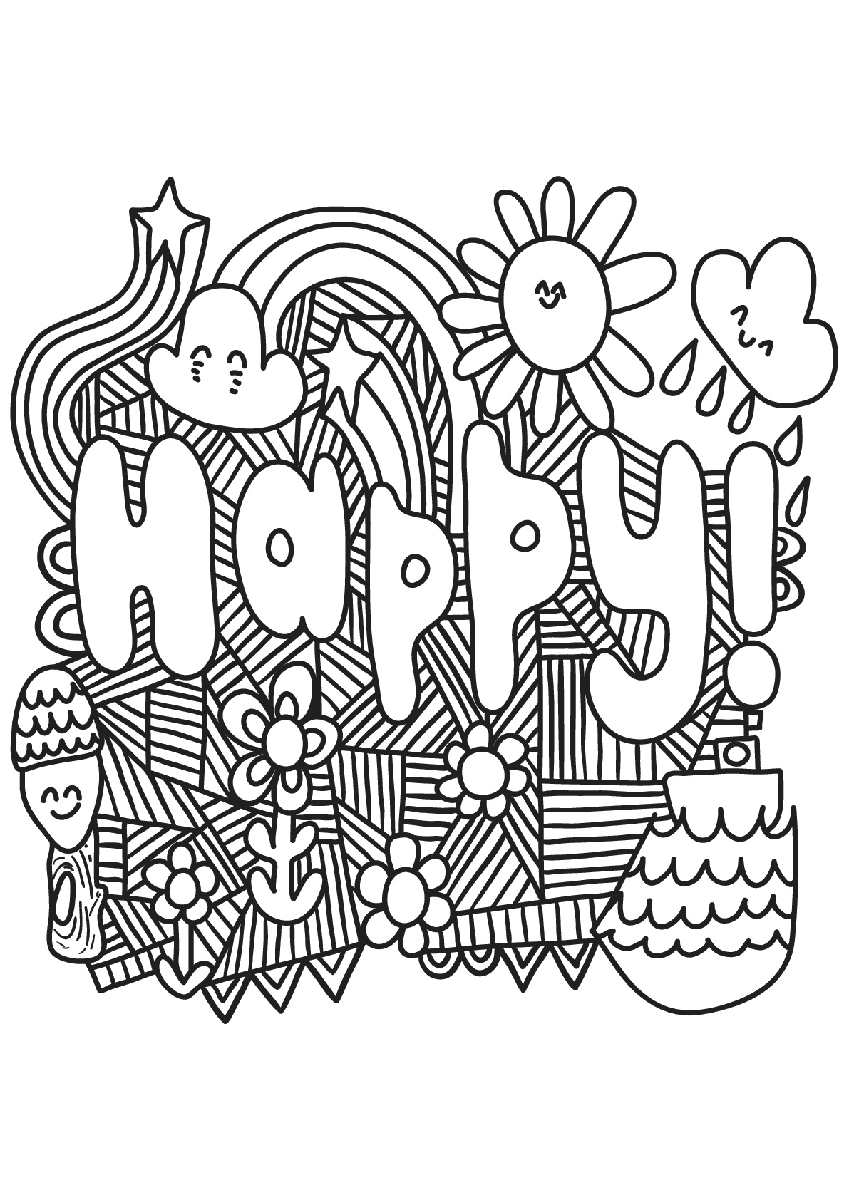 Free book quote 4 Quotes Adult Coloring Pages