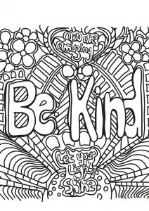 Coloring free book quote 1