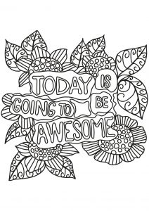 Coloring free book quote 10