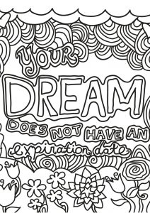 Coloring free book quote 15