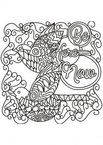Coloring free book quote 16