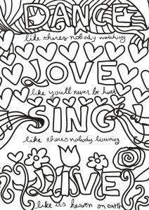 Coloring free book quote 18