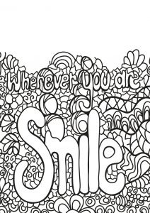Coloring free book quote 3