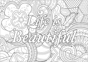 coloring-life-is-beautiful