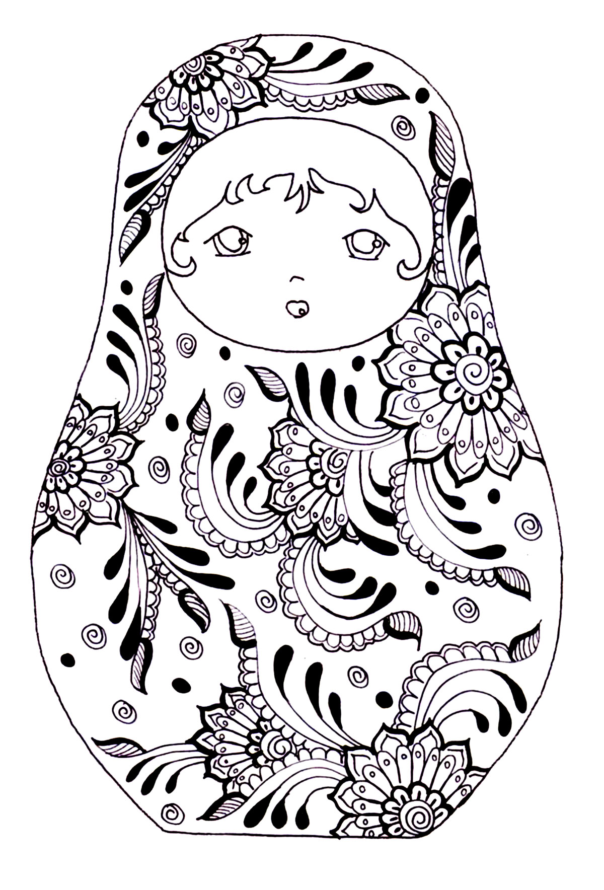 Russia Coloring Pages For Adults