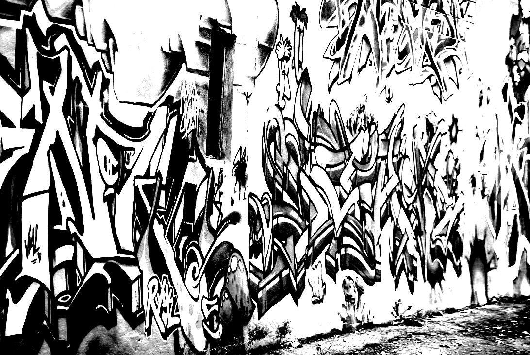 Coloring pages graffiti - Mur Tags From The Gallery Graffiti And Street Art