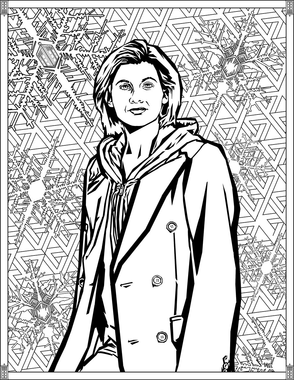"THE THIRTEENTH DOCTOR (JODIE WHITTAKER). Sorry, but you'll have to wait for ""Twice Upon a Time"" to get a witty caption!"