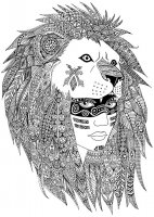 coloring-page-adults-zentangle-sabrina free to print