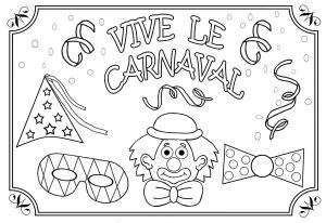Coloriage Carnaval Bresilien.Carnaval Coloriages Pour Enfants